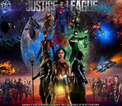 Justice League Epic Poster by Gyaldhart