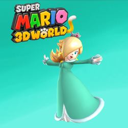 Rosalina - Super Mario 3D World by Hakirya
