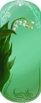 Lily of the Valley Bookmark by mynti