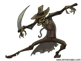 Villains-Monsters SCARECROW by DadaHyena