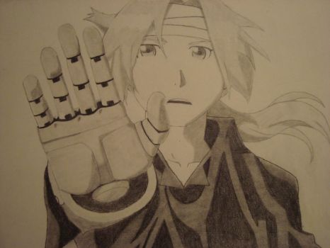 Edward Elric - Out of Reach by NaturalAcoustic