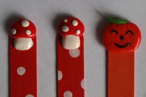 Detail of bookmarks by serenainwonderland