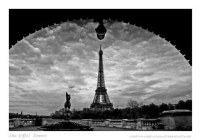 The Eiffel Tower by Andrew-and-Seven