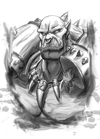 DDS, Garrosh Hellscream by Toughset