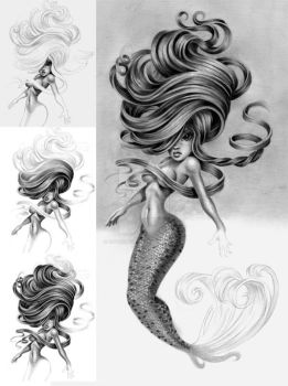 MERMAID part 4 by pat-mcmichael
