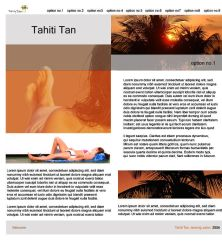 tahiti tan content by cgeorge