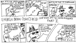EBC #28: Chief RM01 And The Armed Robbery, Part II by EnergyBrainComics