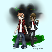 ASFJerome and BajanCanadian by Silverfang999