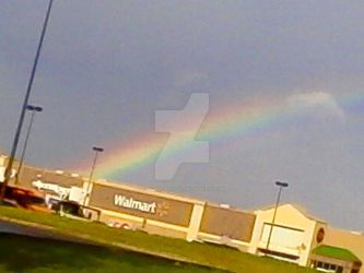 Walmart is at the end of this Rainbow by littlesonic1234