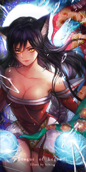 Ahri for iPhone case by bibico-Atelier