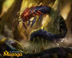 Giant Centiped by Herckeim