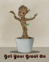 Get Your Groot On by catherine-dair