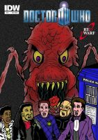 Doctor Who/Red Dwarf Comic Book by mikedaws