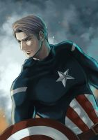 Captain America by Lul-lulla
