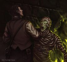 Mummy reborn by ArtDeepMind