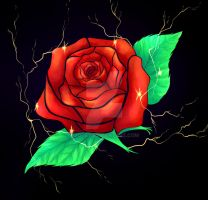 Electric Rose by JOtey