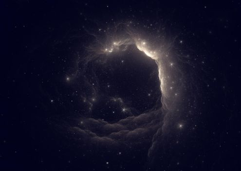 Space Hole by PaulineMoss
