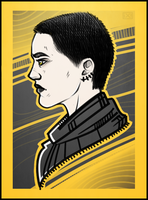 Deadpool: Negasonic Teenage Warhead by maryallen138