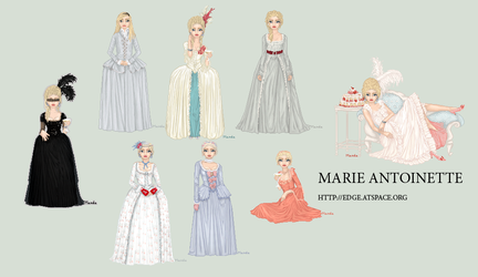 Marie Antionettes by edgedolls