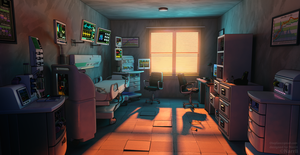 Research Lab morning by z-Gen