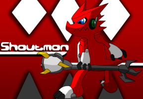 Shoutmon by NinDrite