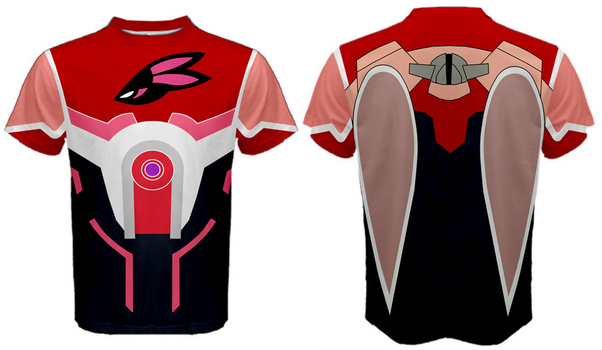 Bunny Hero Suit Sports tee by lawsae