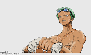 Zoro coloring, chapter 245 by AnnaHiwatari
