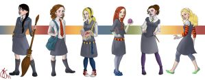 All the Hogwarts Ladies by Limlight