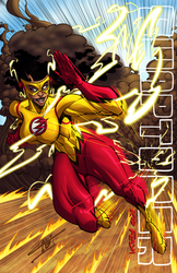 Ms. Kid Flash by ArtOfTDJ