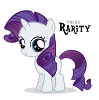 Rarity Filly by Blackm3sh