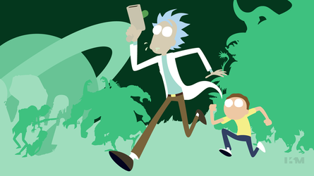Rick and Morty by Krukmeister