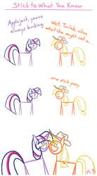 Stick to What You Know by MrBastoff
