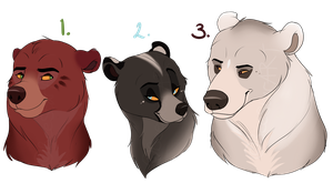 Bear design AUCTION. CLOSED: by BeeStarART