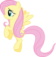 Timid Fluttershy by RedPandaPony