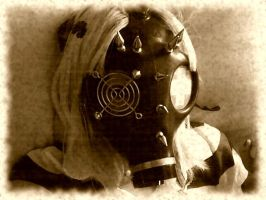 Gas Mask by NicoleDolly