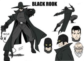 Commissions: Black Rook by nerp