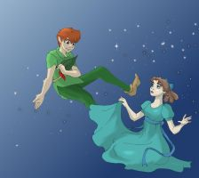 Peter and Wendy by Ambera