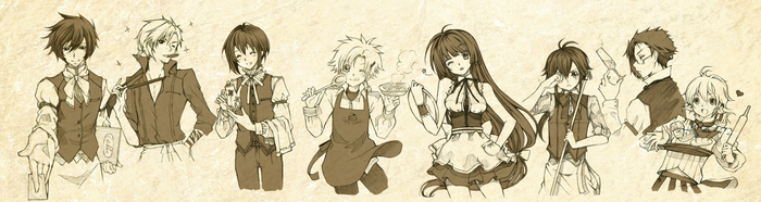 Cafe Kare sketch by arielucia