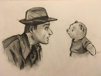 Christopher Robin Sketch by MicroPixels