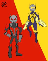 Ant Man and The Wasp by PandaKillerGao
