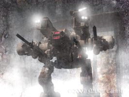 Night Assault on Planet H7 by ShamanX