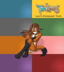 TwoKinds Laura Wallpaper Pack by Goatie-dk