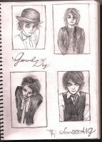 Gerard Way sketches by thegracefuldead