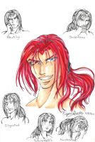 Facial Expressions by Rozen-Guarde