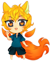 ~Mellow : Chibi Commission~ by Miiru-Inu
