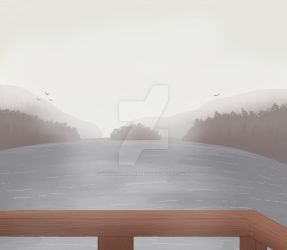 A Smokey Lake by NakashimaTheNinja