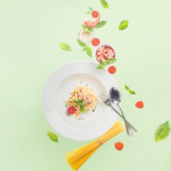 Seafood pasta by dinabelenko