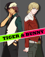 TIGER and BUNNY by MK3MTY
