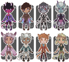 [closed] Set Price Adopts by caitiecat-adopts