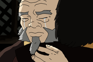 I was never angry with you - Zuko and Iroh by Juggernaut-Art